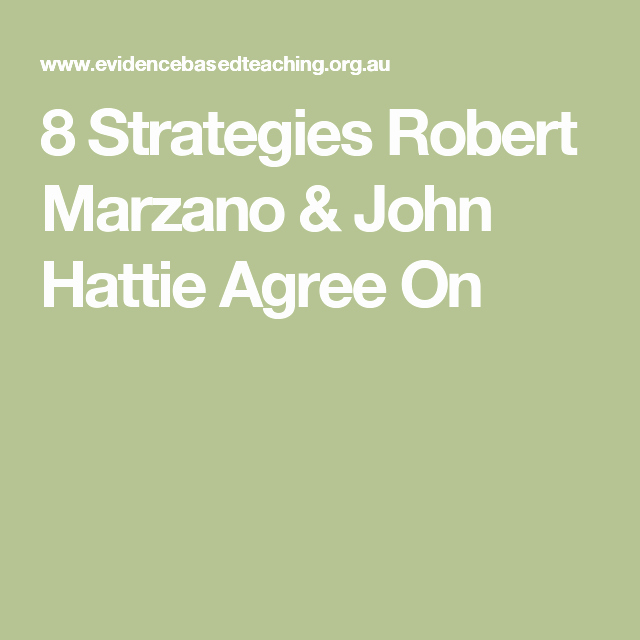 Robert Marzano Lesson Plan Template Elegant Marzano Instructional Strategies Chart