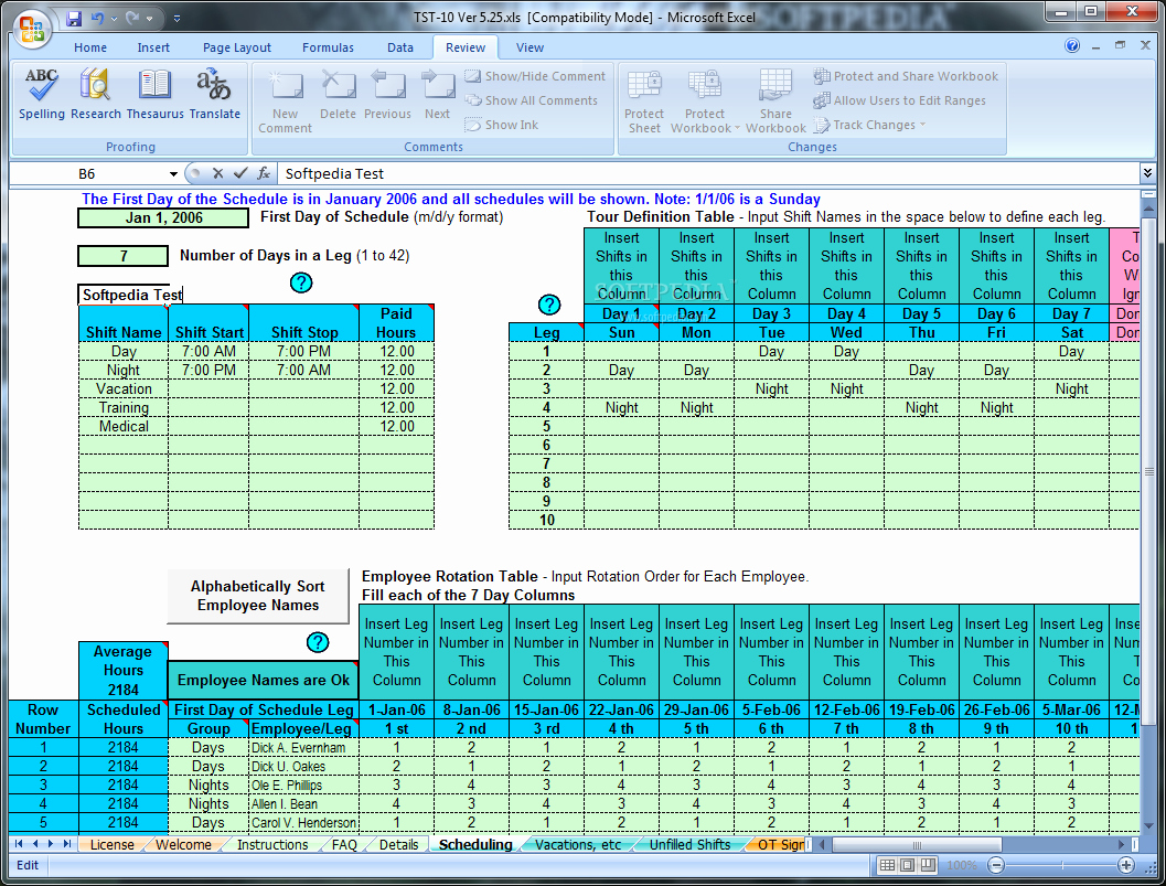 Rotating Overtime Schedule Template Lovely Project Management Task Tracking Spreadsheet