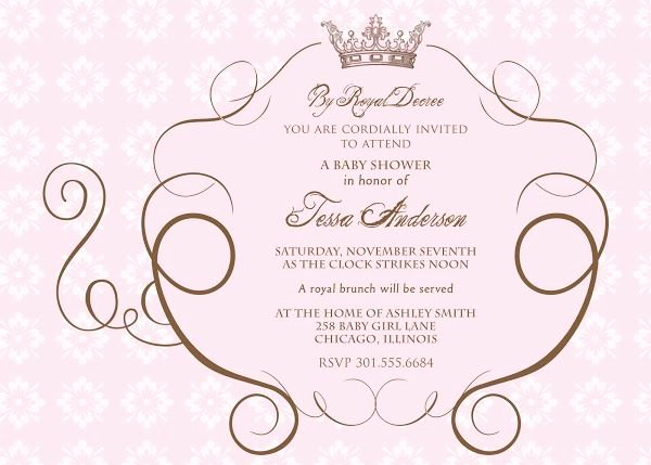 Royal Baby Shower Invitation Template Inspirational Royal Baby Shower Invitations Templates Royal Blue and