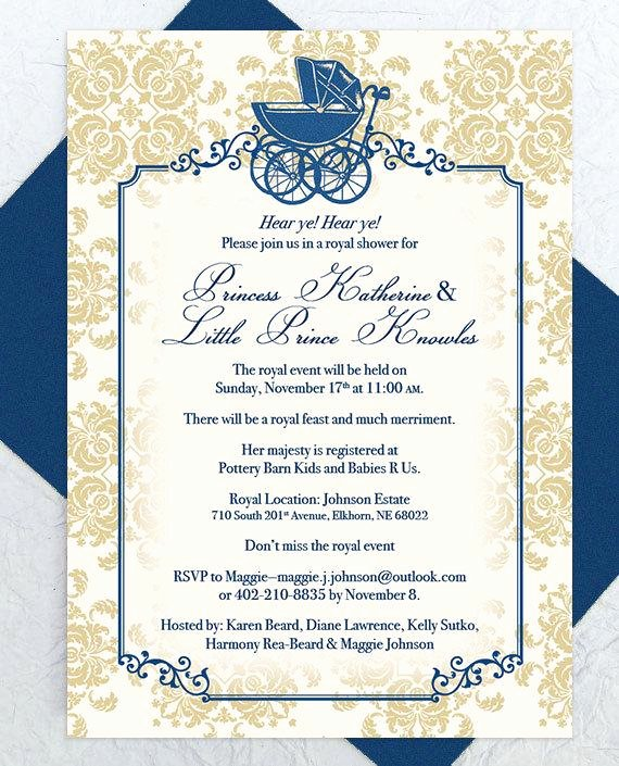 Royal Baby Shower Invitation Template Luxury 301 Moved Permanently