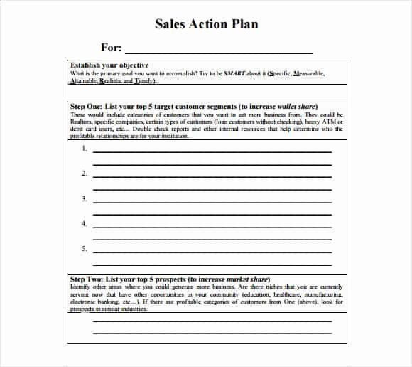 Sales Action Plan Template Excel Beautiful Free Sales Plan Templates Free Printables Word Excel