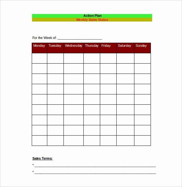 Sales Action Plan Template Excel Elegant 28 Sales Action Plan Templates Docs Pdf