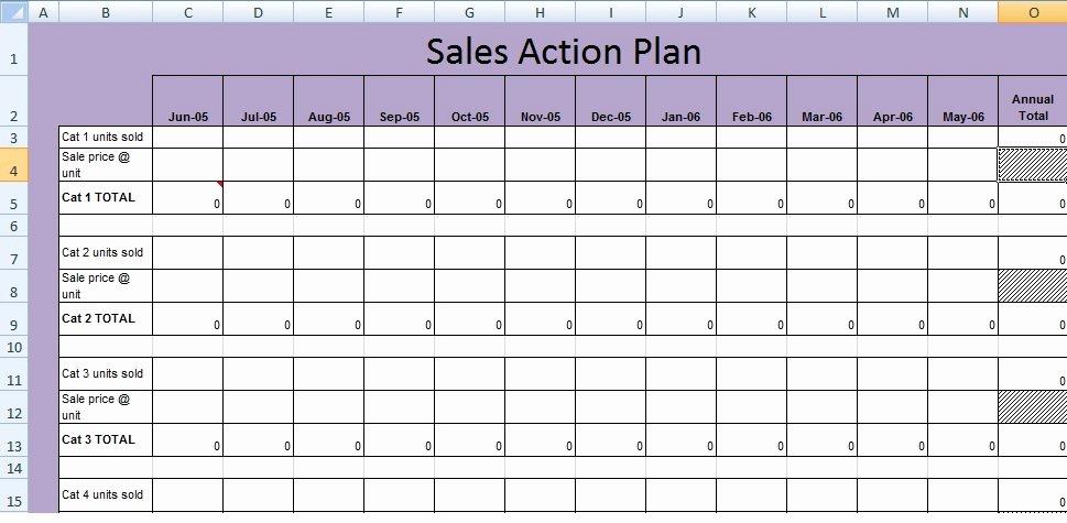 Sales Action Plan Template Excel New Get Sales Action Plan Template Xls Free Excel