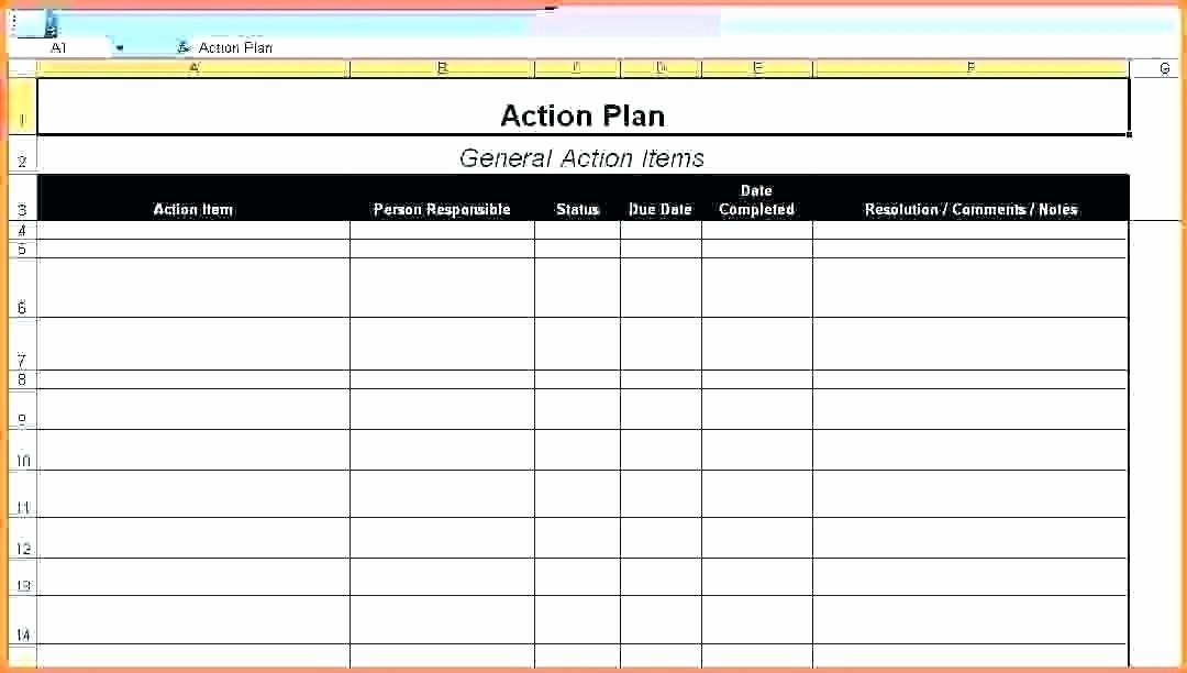 Sales Action Plan Template Lovely 15 Action Plan Templates