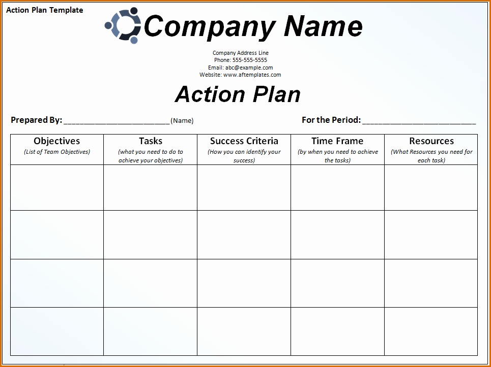 Sales Action Plan Template Lovely 8 Sales Action Plan Template