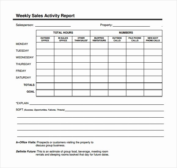 Sales Call Planner Template Beautiful Sample Sales Call Report Sample – 5 Free Documents In Pdf
