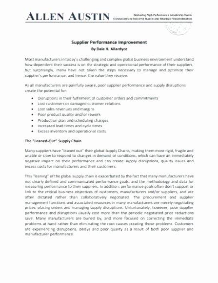 Sales Performance Improvement Plan Template Lovely Pip Performance Improvement Plan Template – Lachasse
