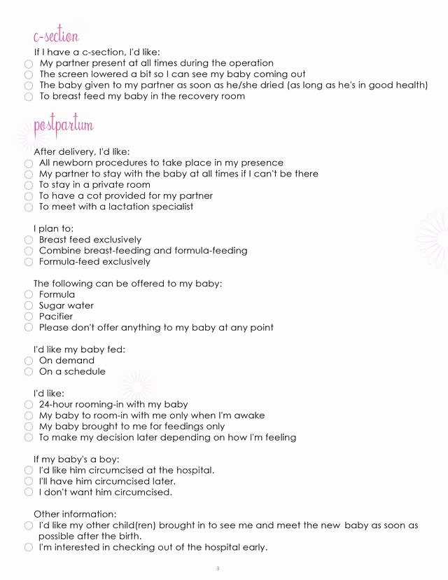 Sample Birthing Plan Template Best Of Redirecting to
