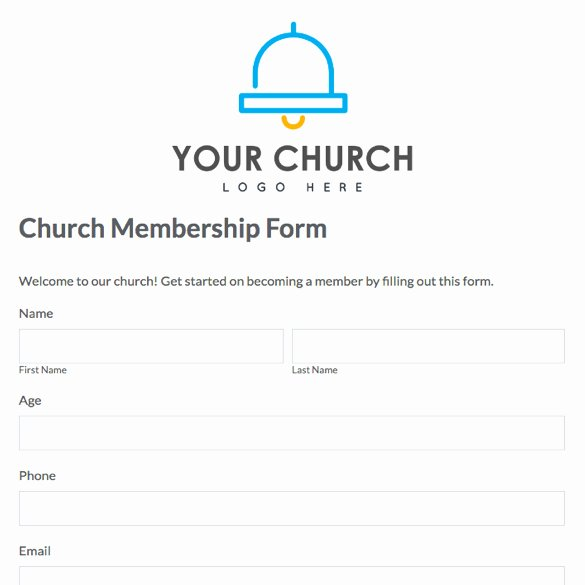 Sample Church Membership form Template Best Of Index Of Cdn 3 2006 469