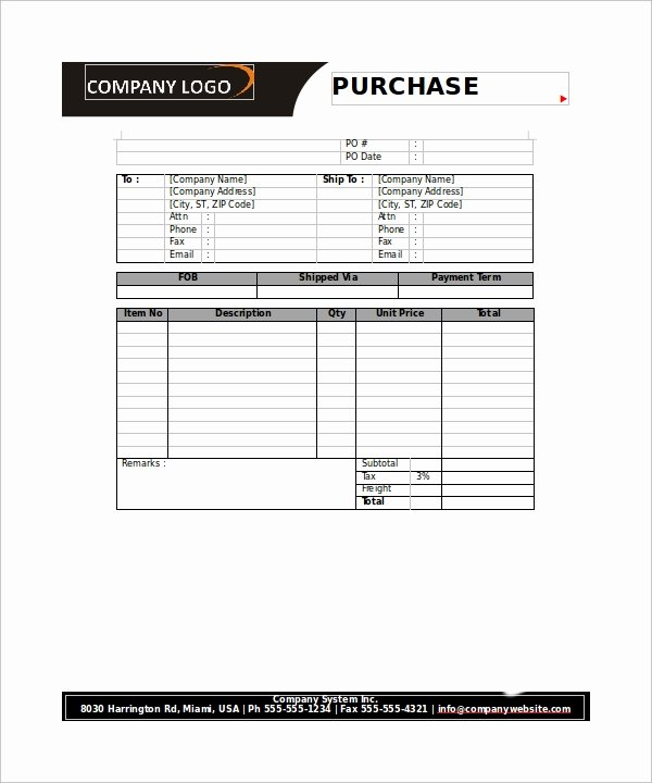 Sample order forms Template Best Of Free 20 order form Templates In Pdf Word
