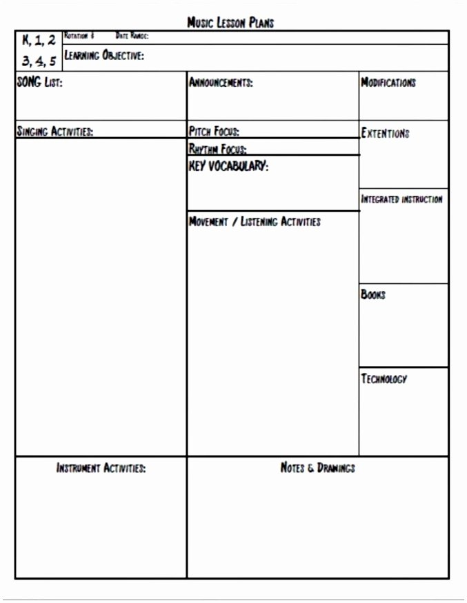 School Age Lesson Plans Template Beautiful 12 School Age Lesson Plan Template Uuawu