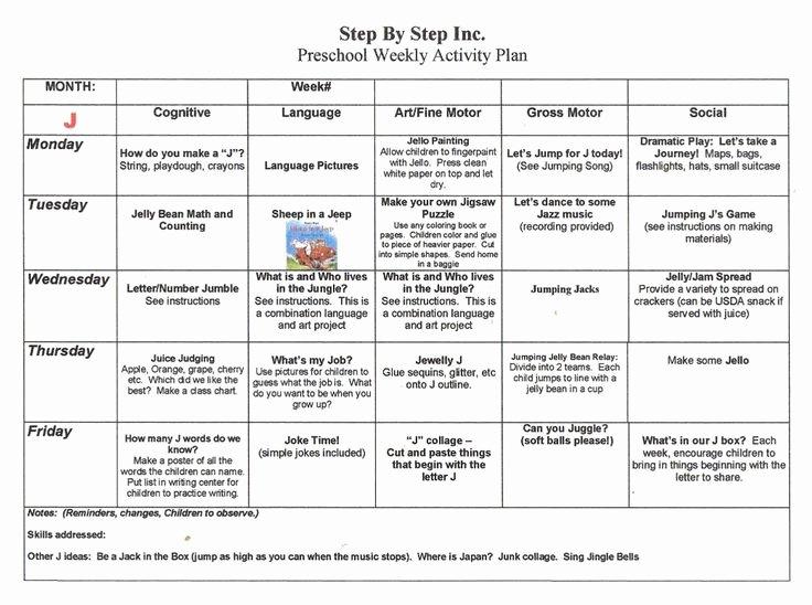 School Age Lesson Plans Template Beautiful Emergent Curriculum Preschool Lesson Plan Template