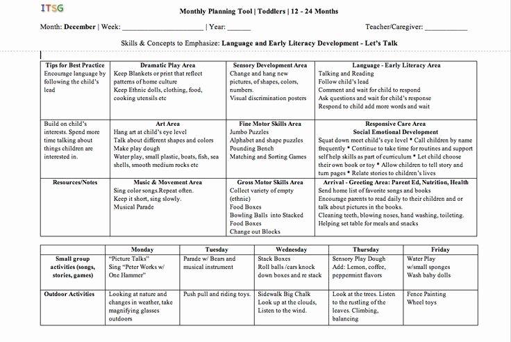 School Age Lesson Plans Template New Sample Lesson Plans Preschool Google Search
