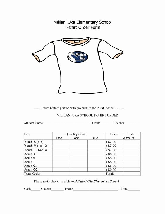 School Fundraiser order form Template Awesome Pinterest • the World's Catalog Of Ideas