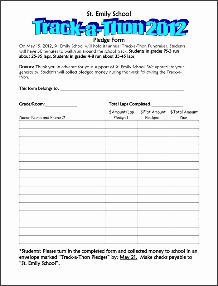 School Fundraiser order form Template Luxury 6 School Fundraiser order form Template Sampletemplatess