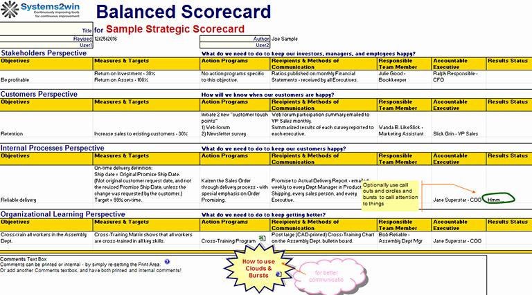 excel scorecard template 1329