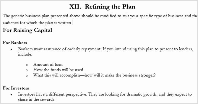 Scores Business Plan Template Luxury the Best Business Plan Templates