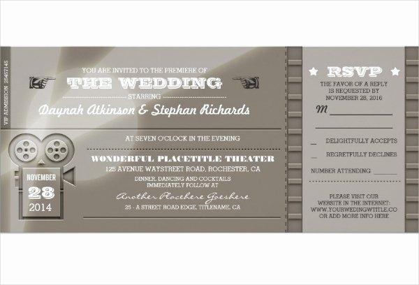 Secret society Invitation Template Elegant 13 Cinema Invitation Designs & Templates Psd Ai