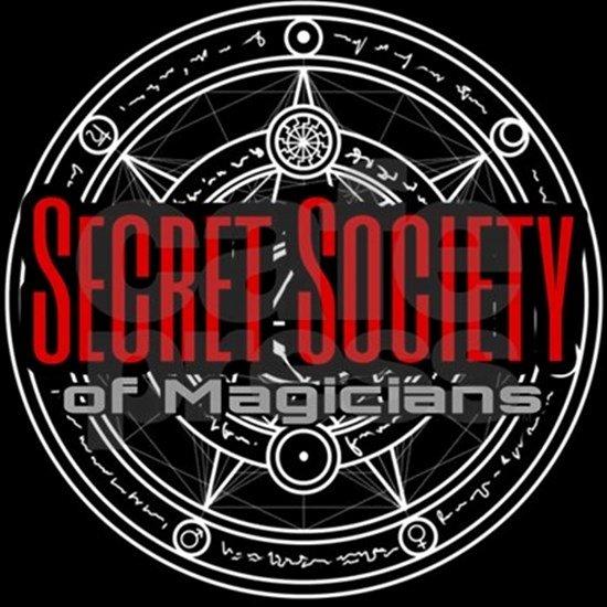 Secret society Invitation Template Fresh Secret society Of Magicians Mens Tri Blend T Shirt Secret