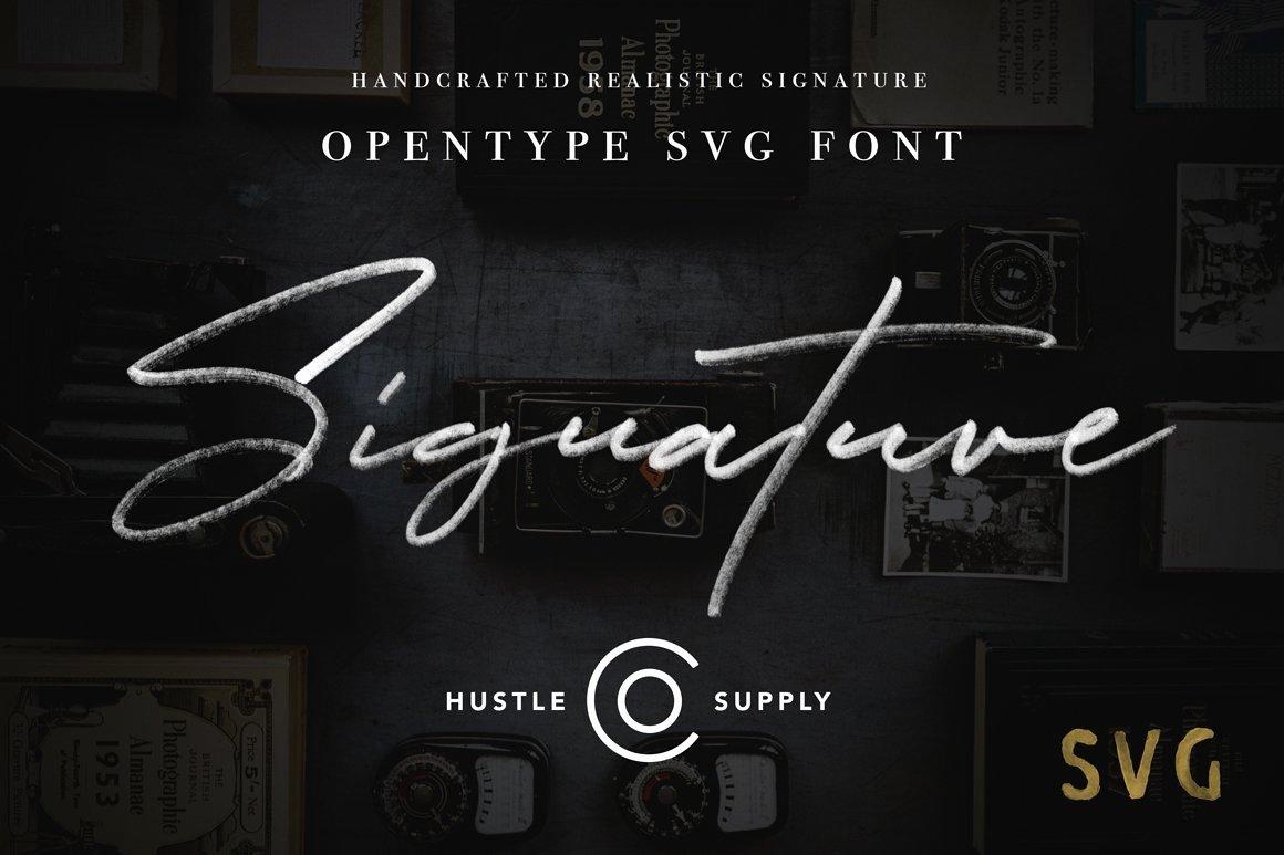 Secret society Invitation Template New Jv Signature Svg Opentype Svg Script Fonts Creative