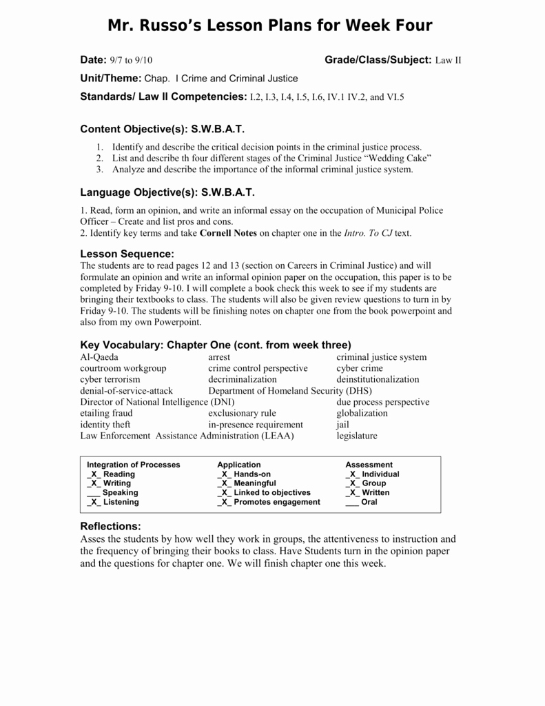 Siop Lesson Plan Template 2 Beautiful Siop Lesson Plan Template 1