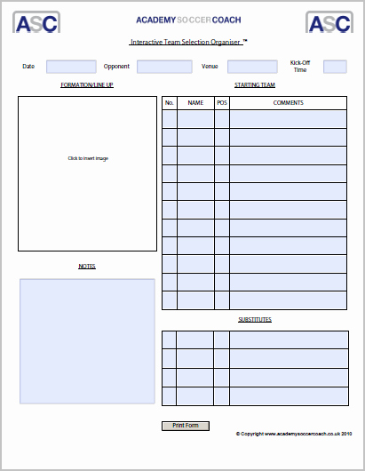 Soccer Session Plan Template Inspirational Interactive Session Plans™ Academy soccer Coach