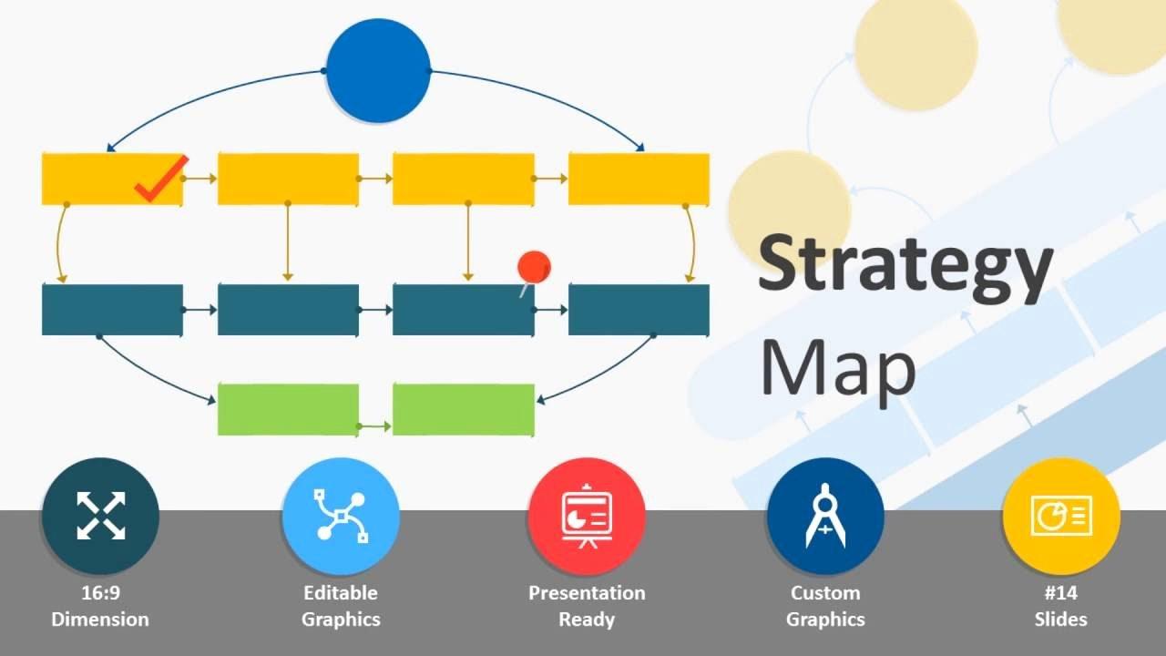 Strategic Plan Powerpoint Template Beautiful Strategy Map Powerpoint Template
