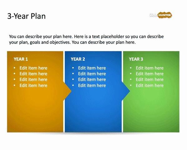 Strategic Plan Powerpoint Template Fresh 3 Year Strategic Plan Powerpoint Template is A Free