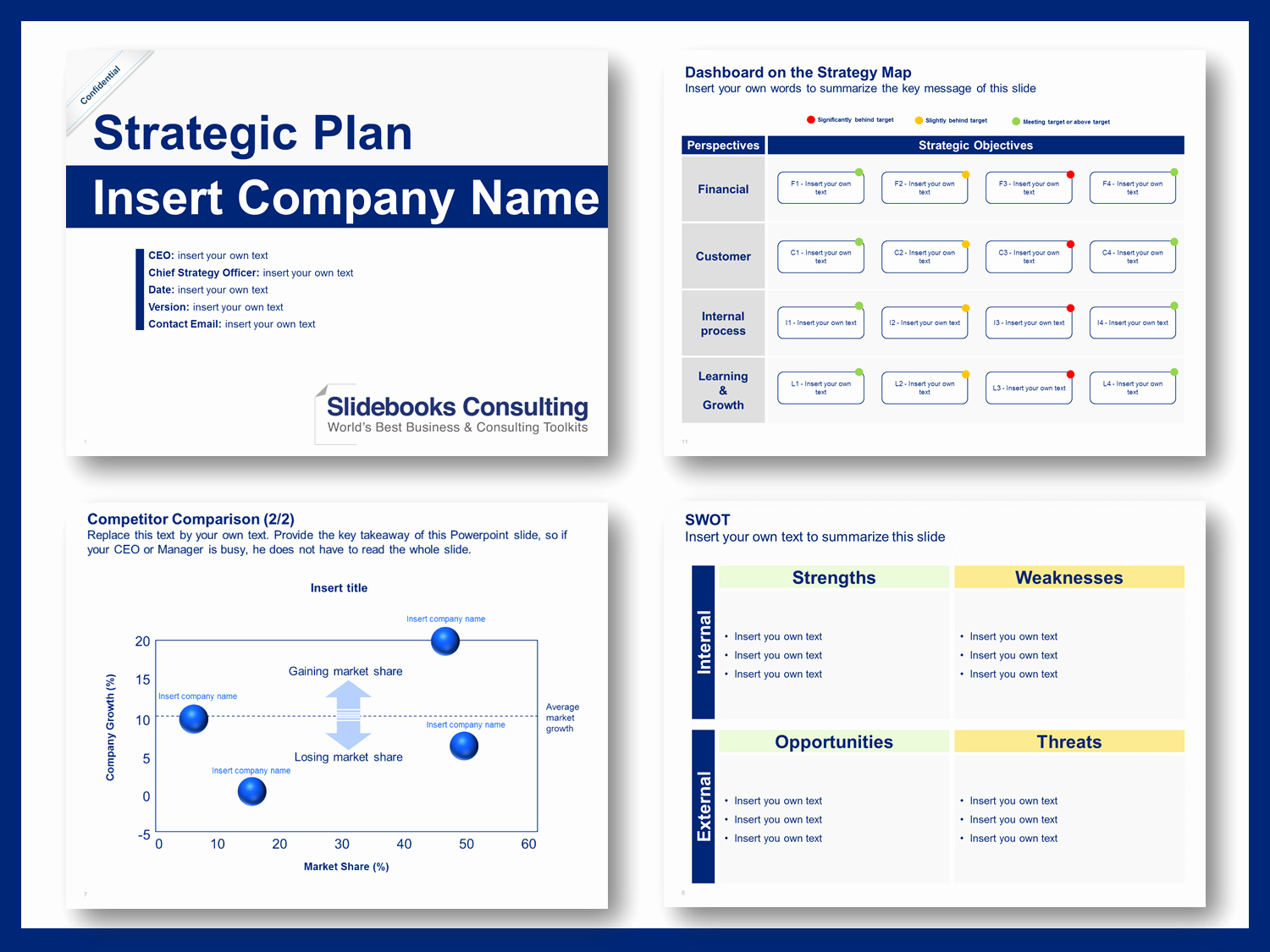 Strategic Plan Template Ppt Awesome Download A Simple Strategic Plan Template