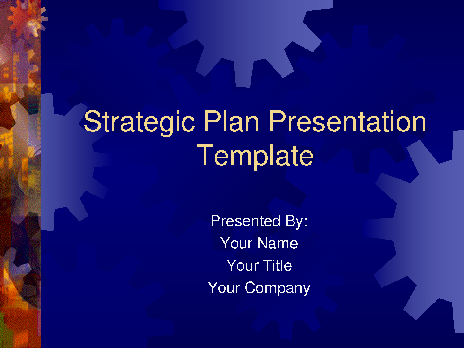 Strategic Plan Template Ppt Awesome Strategic Plan Powerpoint Templates Business Plan