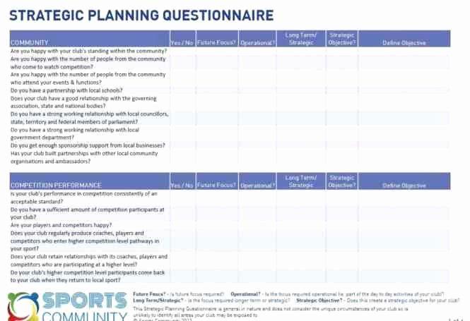 Strategic Planning Template Excel Elegant 5 Free Strategic Plan Templates Word Excel Pdf formats