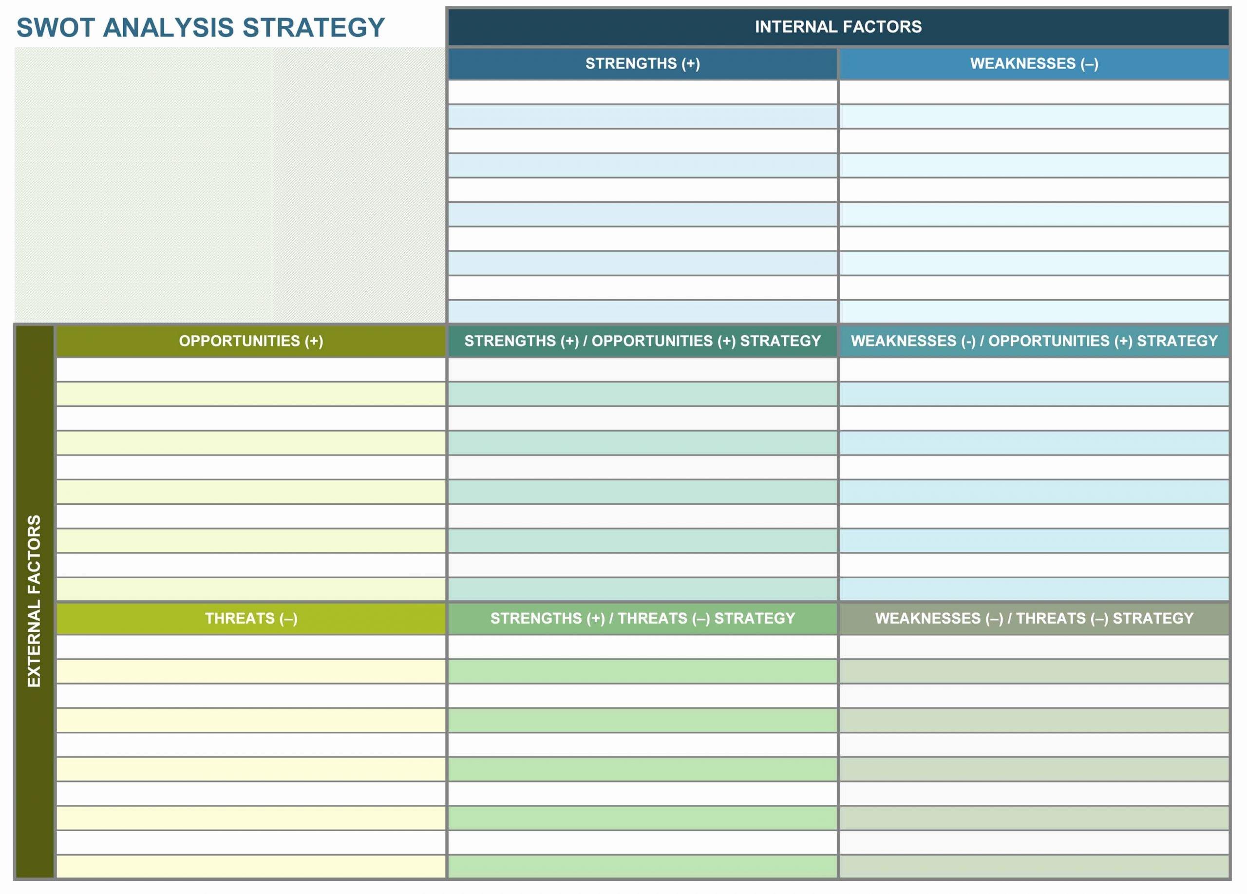 Strategic Planning Template Excel Fresh 9 Free Strategic Planning Templates Smartsheet