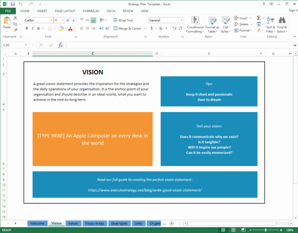 Strategic Planning Template Excel Luxury top 5 Resources to Get Free Strategic Plan Templates