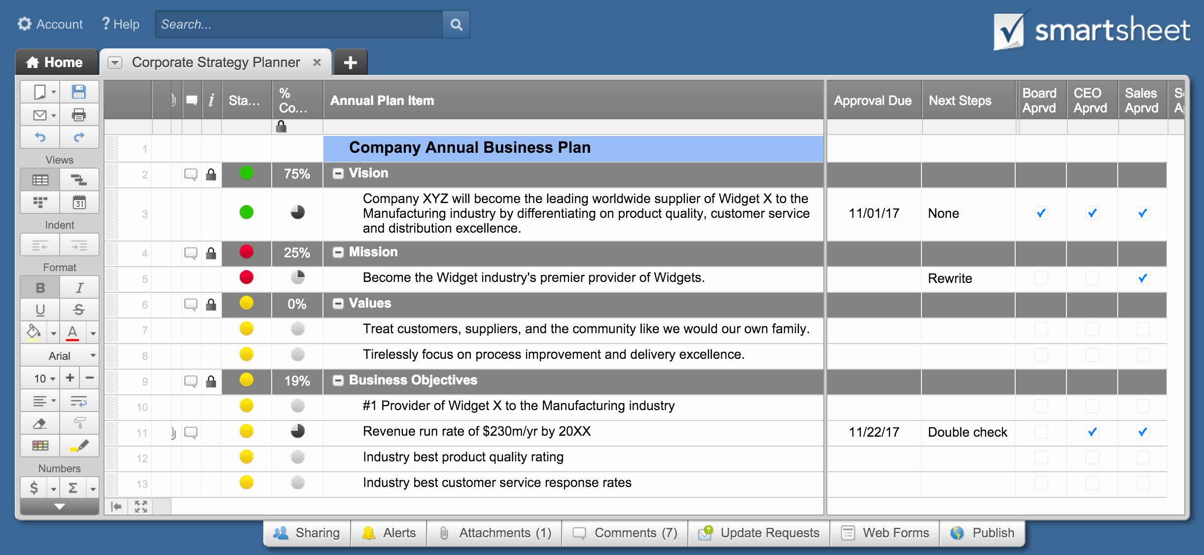 Strategic Planning Template Excel New top Project Plan Templates for Excel