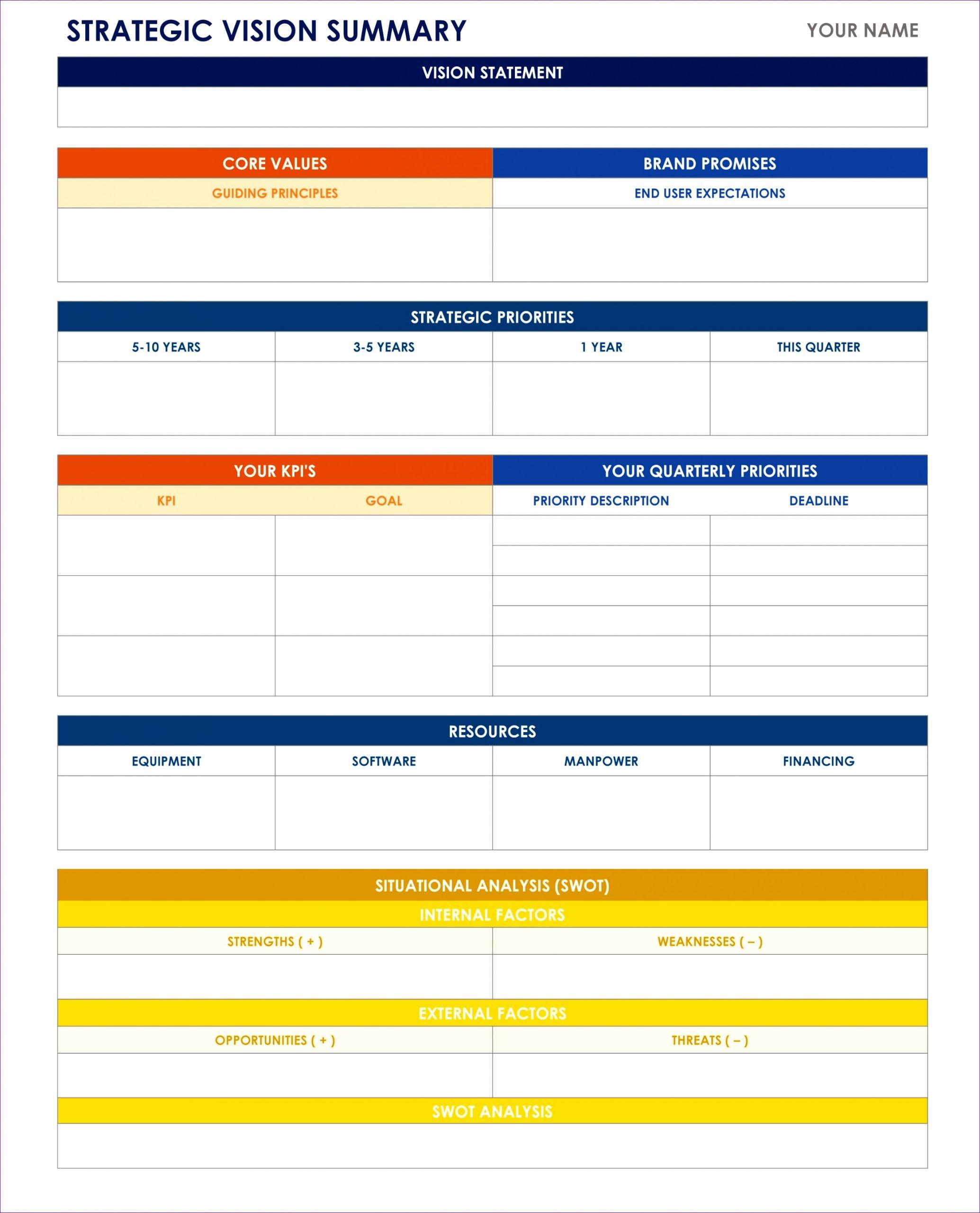 Strategic Planning Template Excel Unique 9 Free Training Matrix Template Excel Exceltemplates