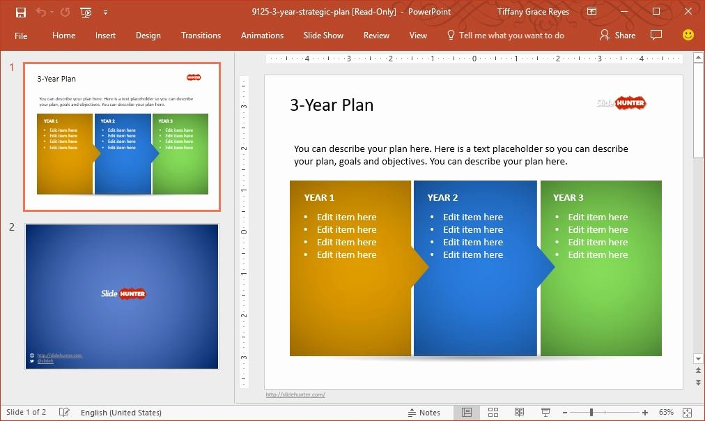 Strategic Planning Template Ppt Beautiful Create High Impact Project Presentations with Slidehunter