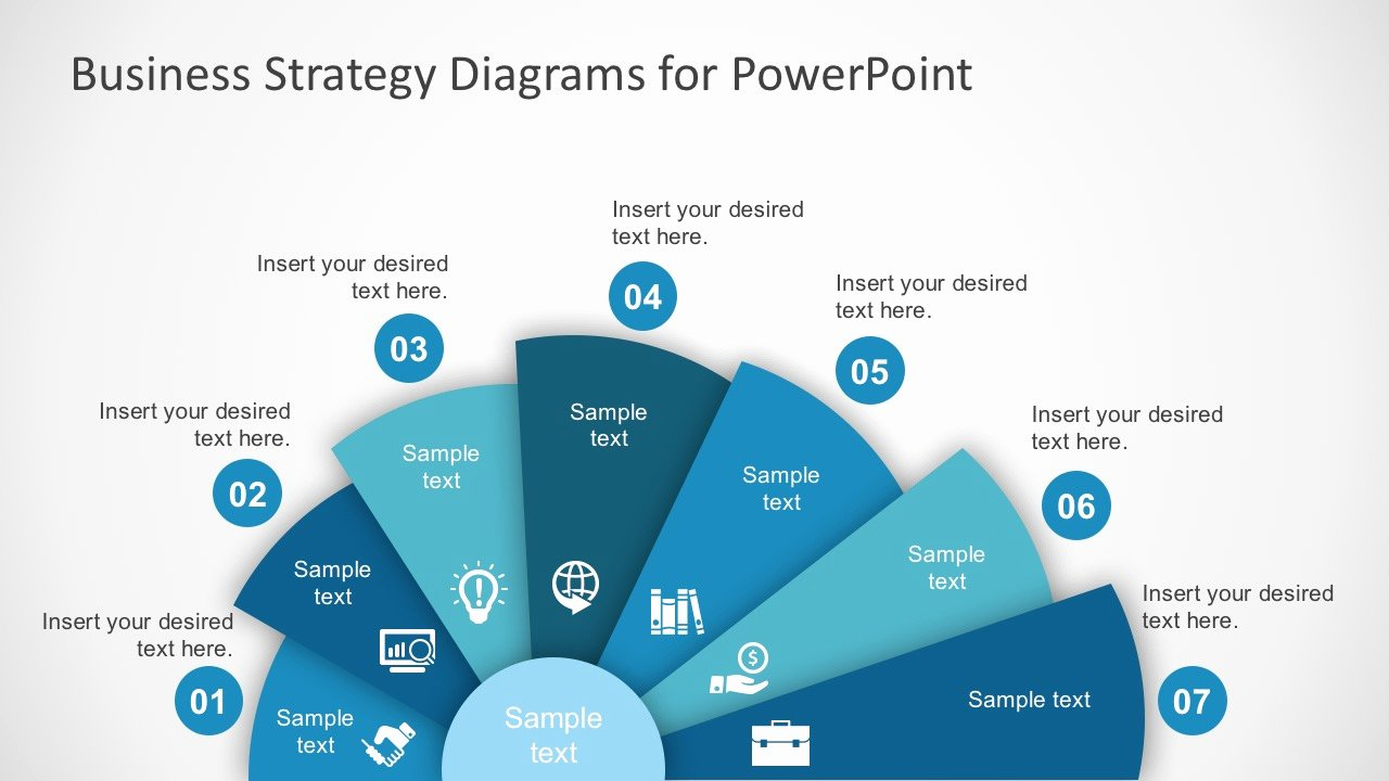 Strategic Planning Template Ppt Beautiful Free Business Strategy Diagram Powerpoint Slidemodel