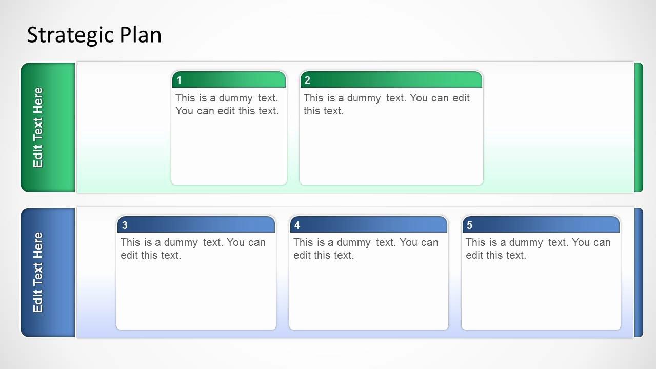 Strategic Planning Template Ppt Best Of Basic Strategic Plan Template for Powerpoint Slidemodel