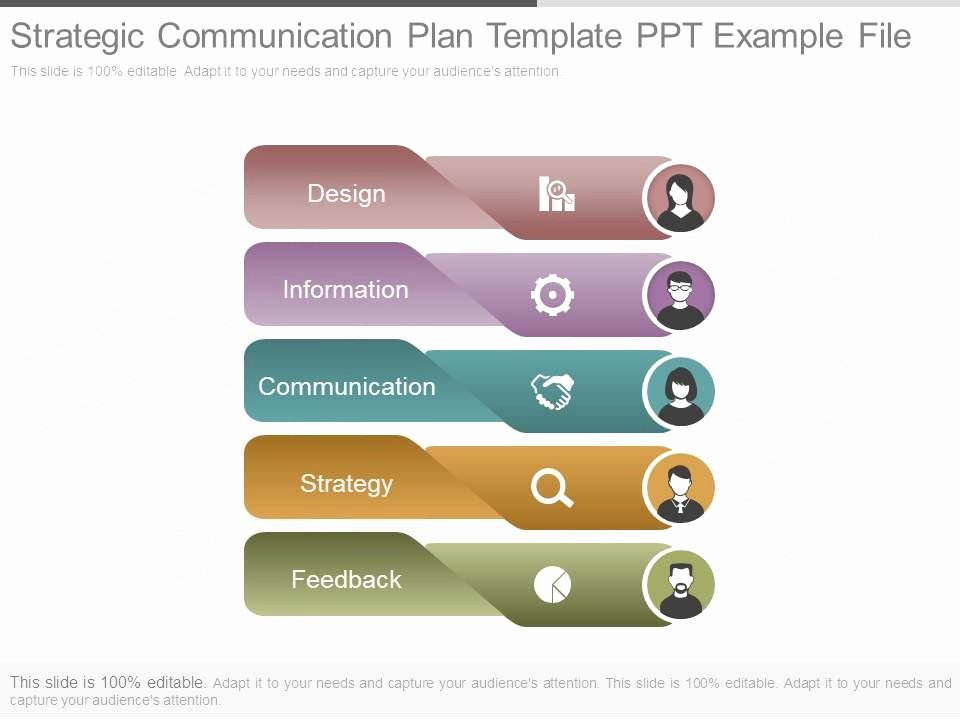 Strategic Planning Template Ppt Inspirational Strategic Munication Plan Template Ppt Example File