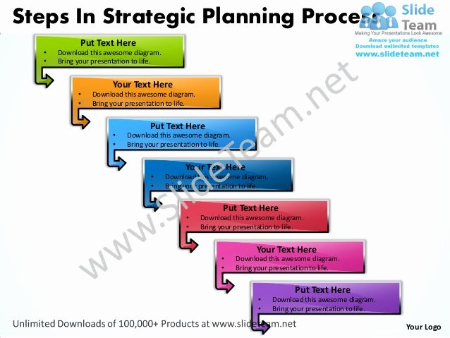 Strategic Planning Template Ppt New Business Power Point Templates Steps Strategic Planning