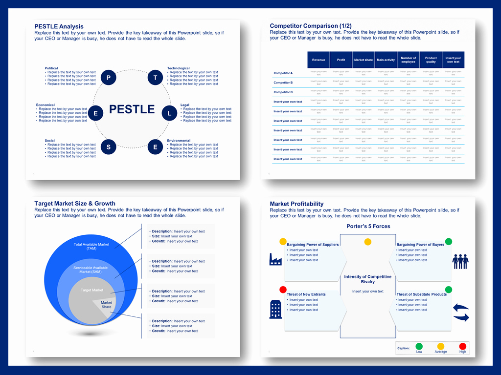 Strategic Planning Template Ppt New Download A Simple Strategic Plan Template