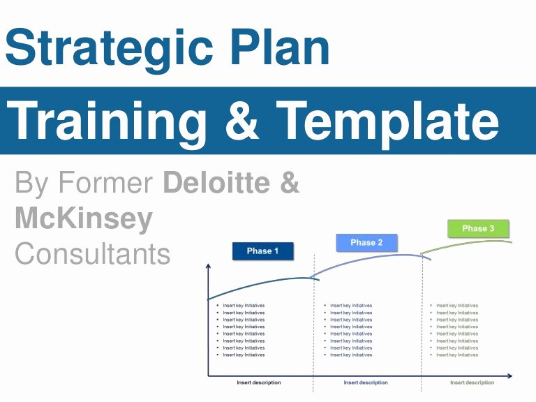 Strategic Planning Template Ppt New Strategic Plan Template