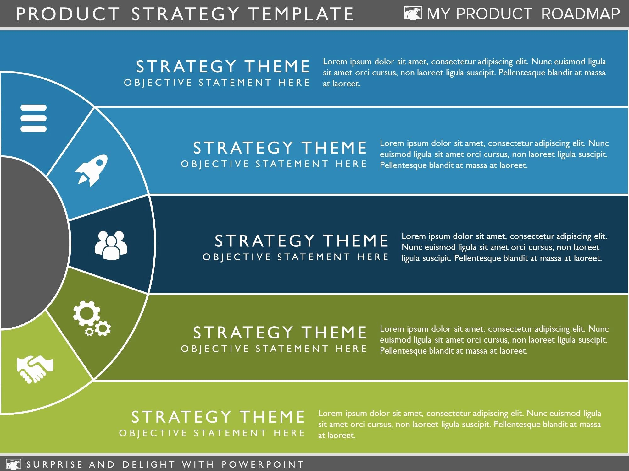 Strategy Plan Template Powerpoint Awesome Product Strategy Template Clickfunnel Hacks