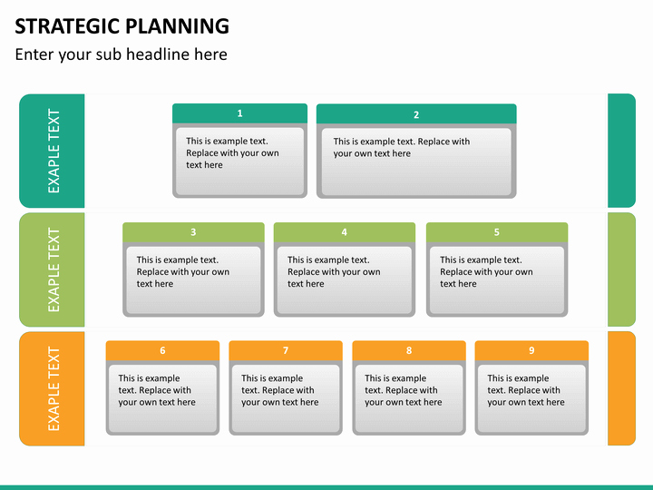 Strategy Plan Template Powerpoint Lovely Strategic Planning Powerpoint Template