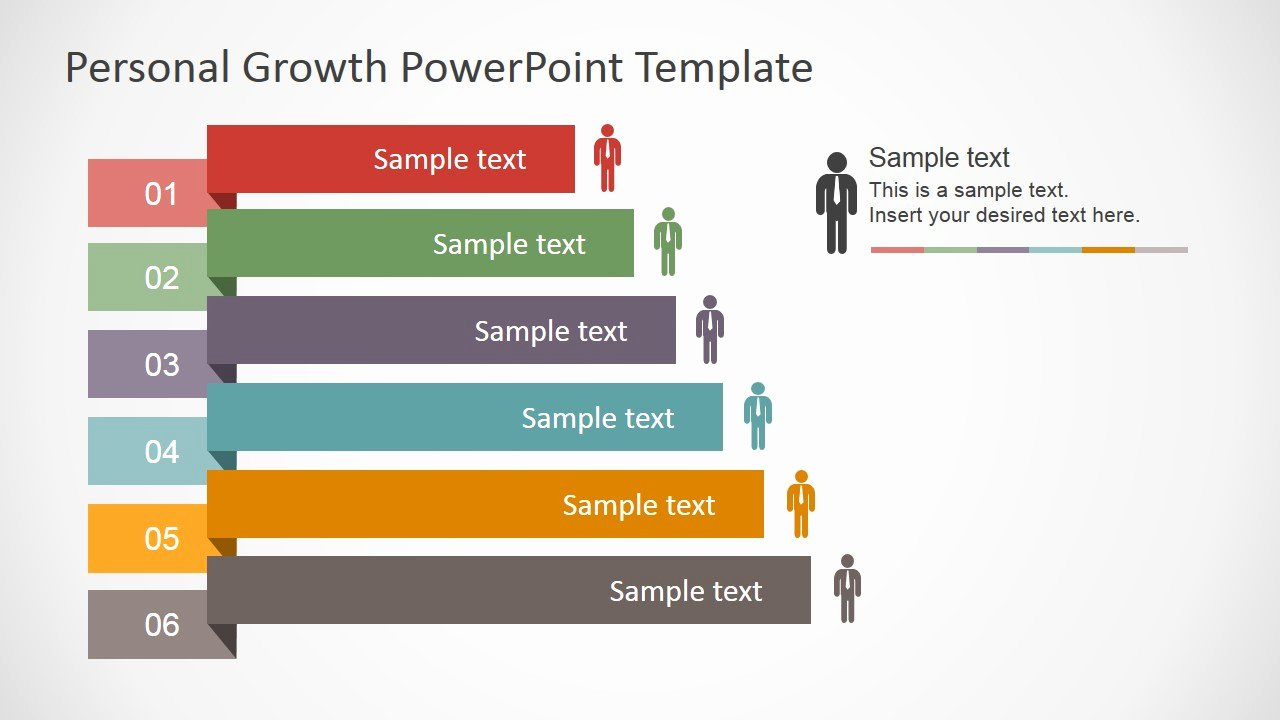 Strategy Plan Template Powerpoint Luxury Personal Growth Plan Outline for Powerpoint Slidemodel