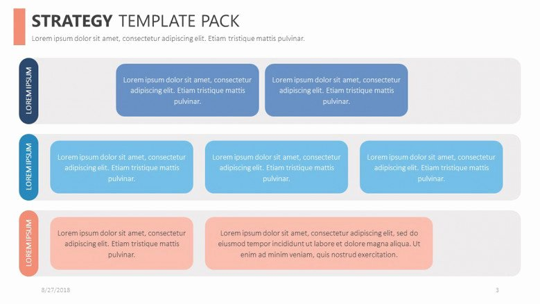Strategy Plan Template Powerpoint Unique Strategy