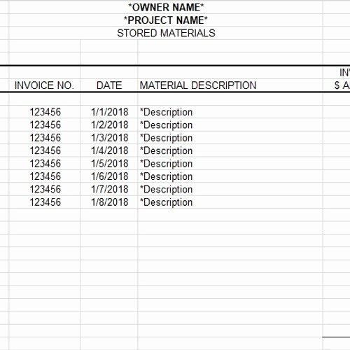 Submittal Schedule Template Excel Fresh Submittal form Template