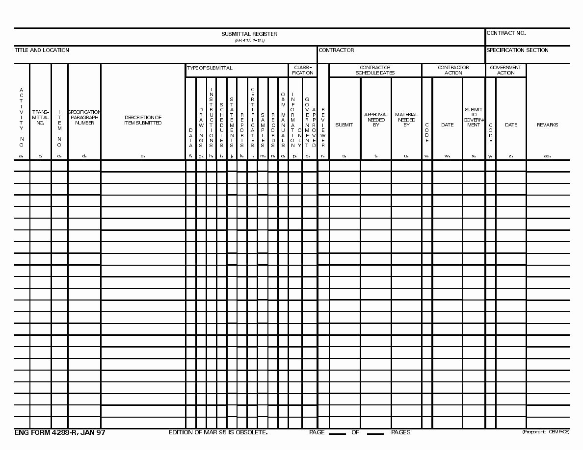 Submittal Schedule Template Excel Unique Index Of Cdn 5 2005 476