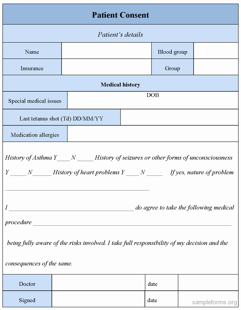 Surgical Consent form Template New Leave A Reply Cancel Reply Frompo