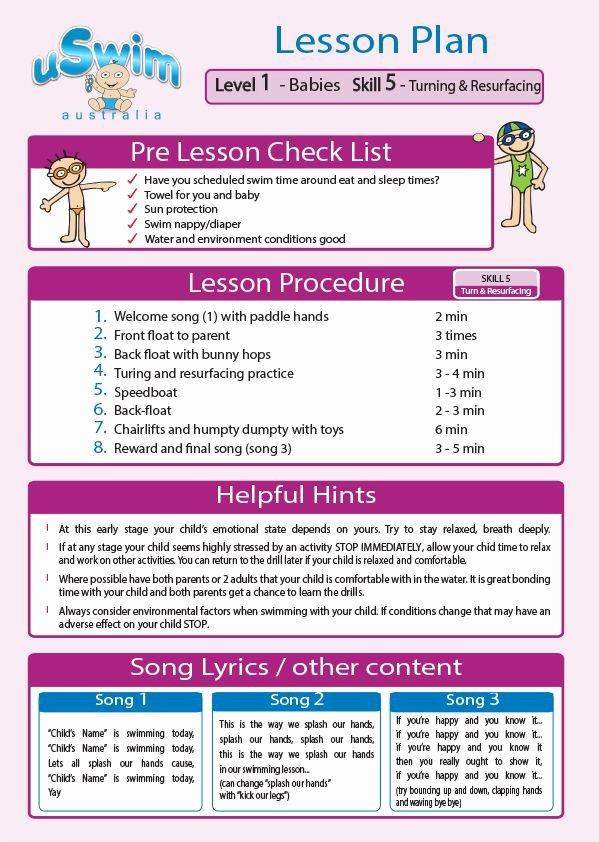 Swim Lesson Plan Template Lovely 1000 Images About Uswim Lesson Plans On Pinterest